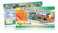 apartment direct mail postcards