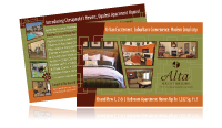 apartment marketing cards