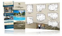 apartment tri fold brochures