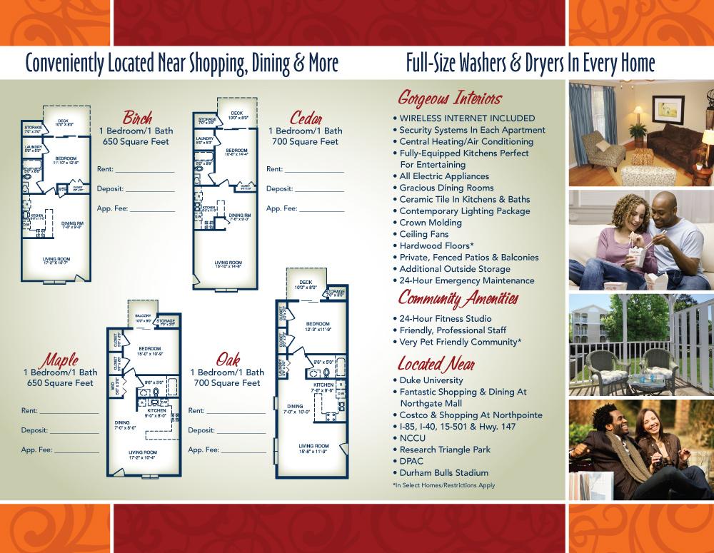 Brochures Forest Pointe Inside