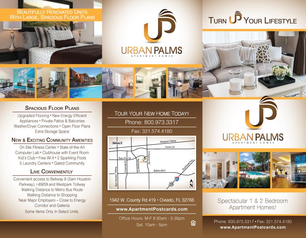 Brochures Urban Palms Outside