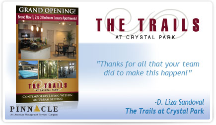 The Trails at Crystal Park Postcard Testimonial
